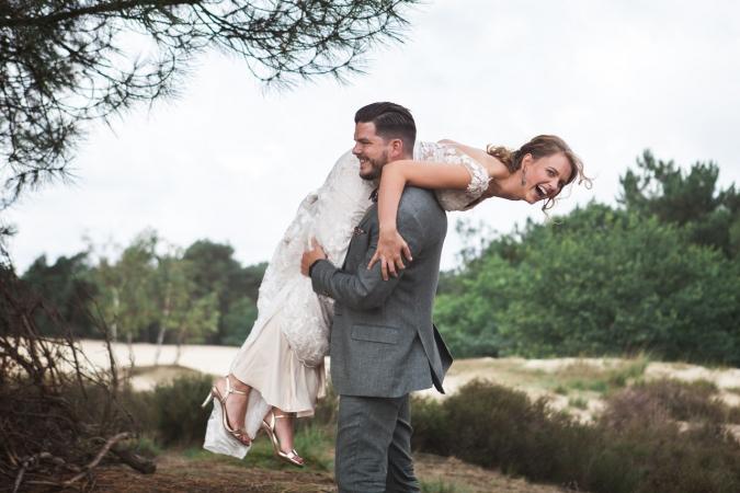 Bruiloft Loon op Zand
